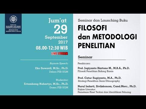 Seminar: Filosofi dan Metodologi Penelitian