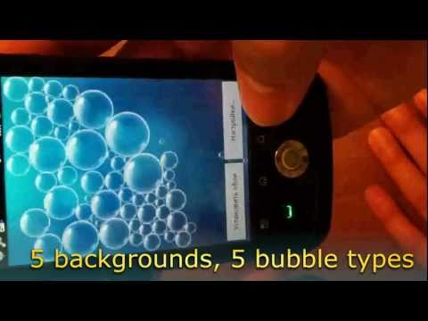 Video of Real bubbles - free!
