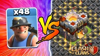 Video Clash Of Clans | ALL MINERS vs TOWN HALL 11! NEW INSANE GAME PLAY! | MAY 2016 UPDATE! MP3, 3GP, MP4, WEBM, AVI, FLV Oktober 2017