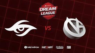 Team Secret vs Vici Gaming, DreamLeague Season 11 Major, bo3,game 2 [Inmate & Maelstorm]