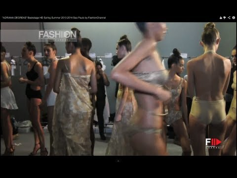 """ADRIANA DEGREAS"" Swimwear Backstage - Spring Summer 2013 Sao Paulo Fashi… видео"