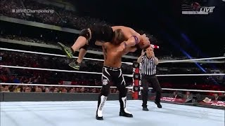 AJ Styles vs John Cena Royal Rumble 2017 Highlights