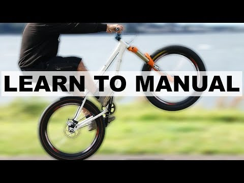 Learning to Manual a Bike