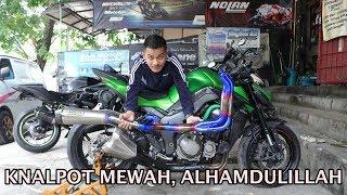 Video KNALPOT MEWAH, ALHAMDULILLAH | Kawasaki Z1000 Sugomi Arrow Titanium Full System MP3, 3GP, MP4, WEBM, AVI, FLV Mei 2019