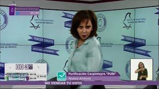 """Video El """"Show de Puri"""" en el último Debate Chilango MP3, 3GP, MP4, WEBM, AVI, FLV Agustus 2018"""
