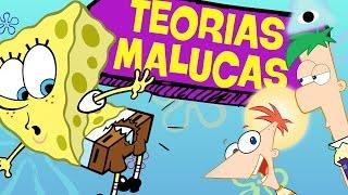 7 TEORIAS BIZARRAS DOS DESENHOS ANIMADOS!