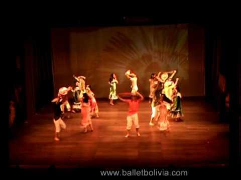 Ballet Folklorico de Bolivia - Danzas del Oriente Boliviano