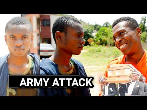 ARMY ATTACK (Filsta Comedy) (Mark angel comedy) (xploit comedy) (Real house of comedy) (comedy)