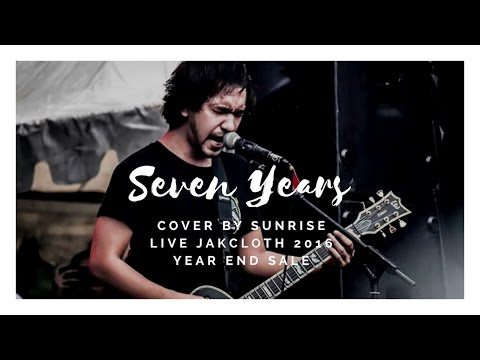 Saosin - Seven Years (Cover By Sunrise Live Jakcloth 2016 Year End Sale)