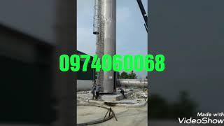 GIA CÔNG  HT SILOS HỢP KIM NHÔM, INOX, THÉP- ỐNG CN ĐẠI PHÚC 0974060068