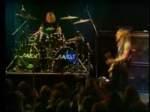 Raven - Rock Until You Drop - BBCTV online metal music video by RAVEN