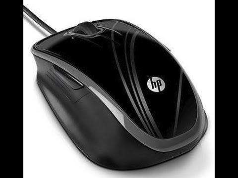 HP BR376AA Optical Comfort Mouse Unboxing (PT)