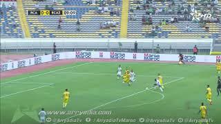 الرجاء الرياضي 1-0 نهضة زمامرة هدف أيوب نناح في الدقيقة  10