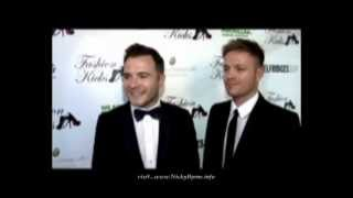Nicky Byrne and Shane Filan at Fashion Kicks 2010 Clip