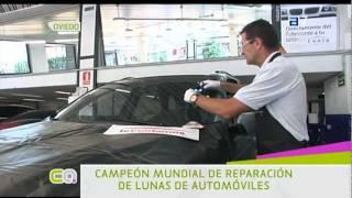 JOSE MANUEL LLANO, CAMPEON MUNDIAL EN REPARACIÓN DE LUNAS DE AUTOMOVILE