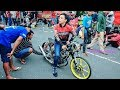 ALVAN CEBONK setting DRAG Bike Liar