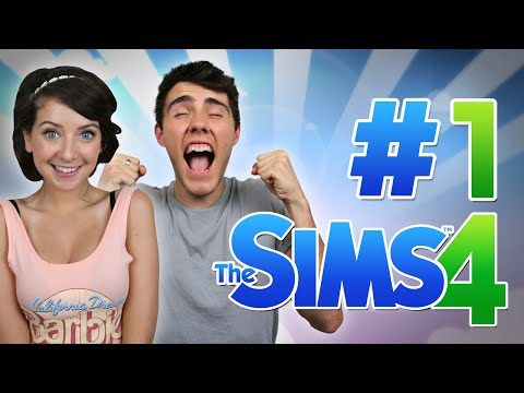 THE BEGINNING! | Sims 4 with Zoella #1