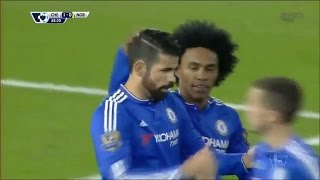 Chelsea 1-0 Norwich City (21/11/2015) EPL HD (Goals & Highlights)