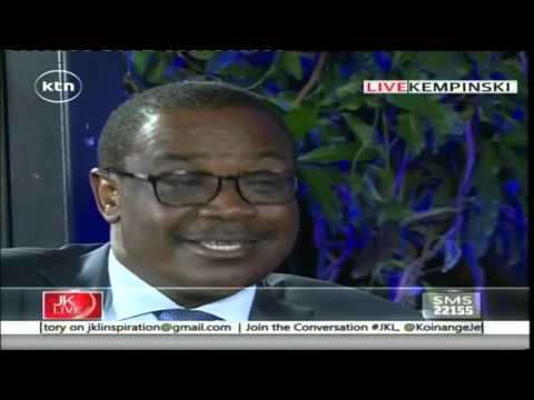 Jeff Koinange Live with Nairobi Governor Dr. Evans Kidero part 2