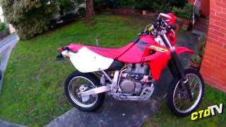 6. Honda Xr650 - Rejetted Carby TestRide