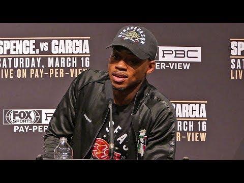 Errol Spence Jr. POST FIGHT PRESS CONFERENCE vs. Mikey Garcia
