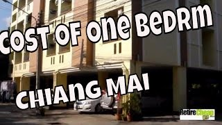 Cost Of One Bedroom Apartment Rentals Chiang Mai
