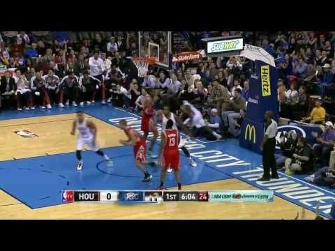NBA Highlights: Rockets @ Thunder 12/29/2013