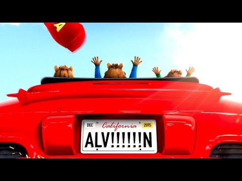 """Alvin and the Chipmunks 4 """"The Road Chip"""" TRAILER (Movie HD)"""