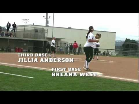 Cal Poly Softball Highlights versus Rutgers - March 8, 2013
