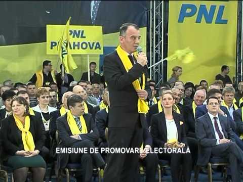 Lansare candidati PNL la alegerile europarlamentare 2014