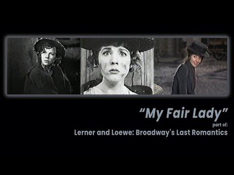 """Lerner and Loewe's """"My Fair Lady"""" (1988) - Audrey Hepburn, Julie Andrews, Kitty Carlisle Hart"""