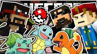 Minecraft | THE STARTER POKÉMON CHALLENGE!! | Pokemon Craft
