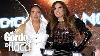 Gloria Trevi y Karol G, emocionadas por su gira 'Diosa de la noche'
