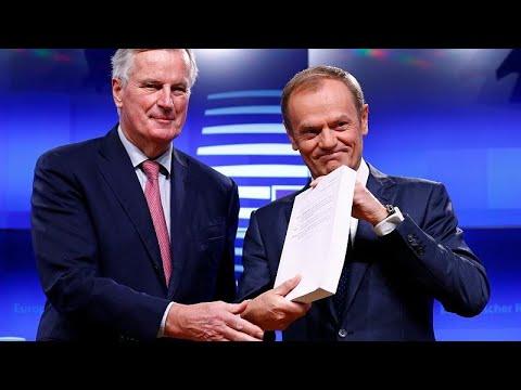 Την έγκριση της συμφωνίας για το Brexit θα προτείνει ο Τουσκ…