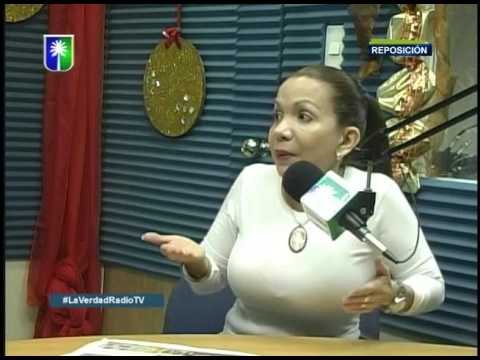 Entrevista a Sanda Alfaro en La Verdad Radio TV