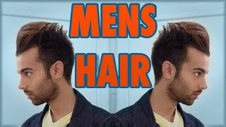 HOW TO: MEN'S MODERN HAIR STYLE TUTORIAL 2015 | KRISHNA