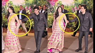 Video Akash Ambani Pulls Shloka Mehta At Sonam Kapoor Wedding Video MP3, 3GP, MP4, WEBM, AVI, FLV Juni 2018