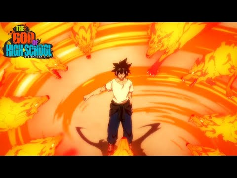Jin Mori God Awakening | Jin Mori defeats Park ilpyo God of Highschool Episode 11 HD 1080P