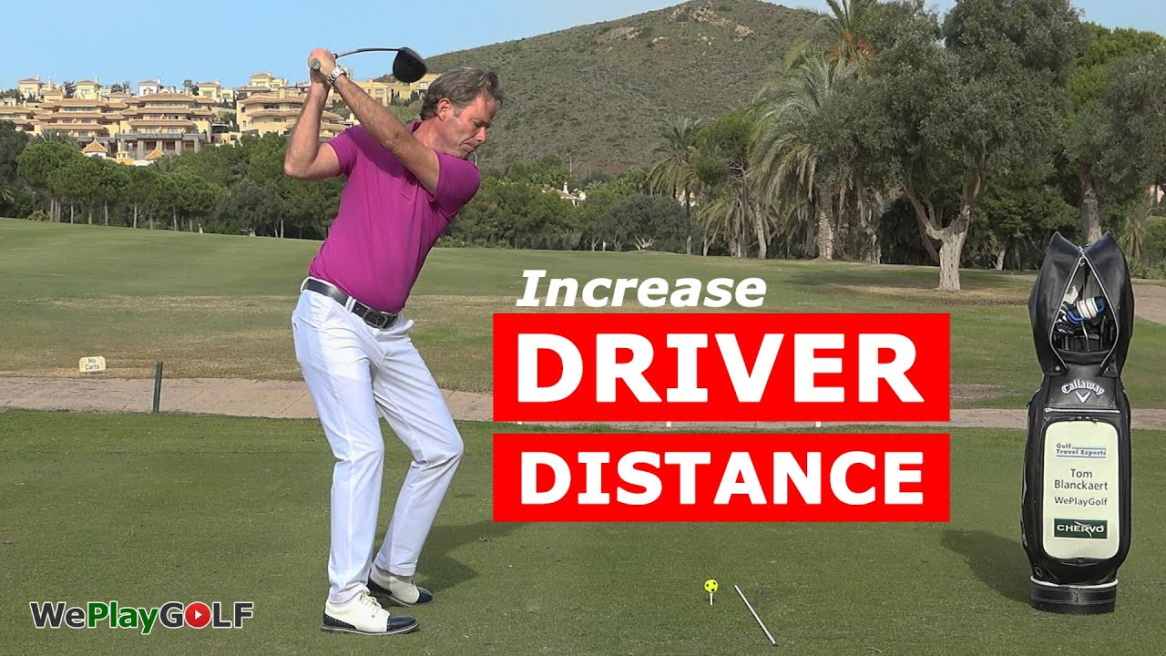 How to increase your golf driver distance - a simple drill