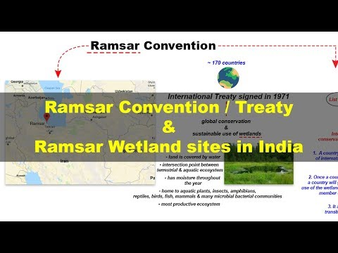 Ramsar Convention - Wetlands in India | UPSC Environment and Ecology