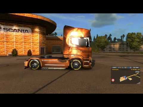Scania Streamline Swan Princess Skin