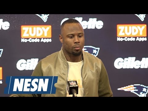 Video: James White AFC Divisional round Patriots vs. Chargers postgame press conference