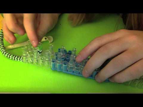 Hexafish Rainbow Loom bracelet!!