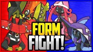Tapu Koko vs Tapu Lele vs Tapu Bulu vs Tapu Fini | Pokémon Form Fight by Ace Trainer Liam