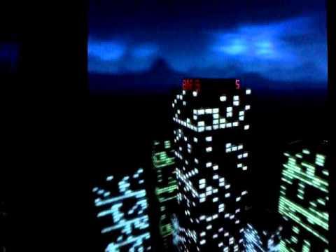 Video of 3D Night City Clock