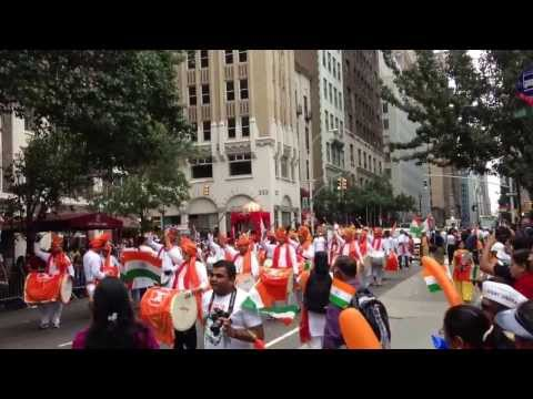 India Day Parade New York City 2013 - Dhol Tasha Pathak