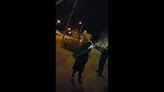 Северодвинское быдло учит полицейских