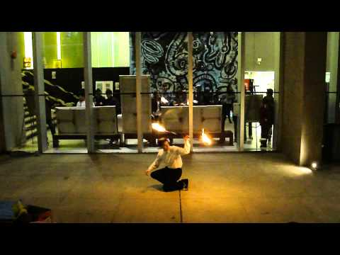 "UTM Arts Festival 2011 – Fire Staff/Poi – ""Babylon"""