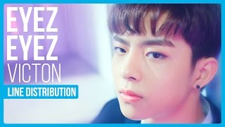 What is the line distribution like for VICTON's comeback song EYEZ EYEZ?Tumblr : hexa6onkpop.tumblr.comTwitter : twitter.com/hexa6onkpopInstagram : instagram.com/hexa6onkpopLIKE the video if you enjoyedCOMMENT for any video suggestions or requests~SUBSCRIBE for more content just like this ^^Songs Used:VICTON (빅톤) - EYEZ EYEZ