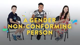 Video Kids Meet a Gender Non-Conforming Person | Kids Meet | HiHo Kids MP3, 3GP, MP4, WEBM, AVI, FLV Agustus 2018